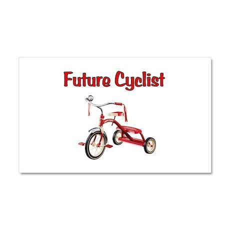 Future Cyclist Trike Car Magnet 20 x 12