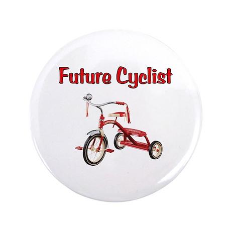 "Future Cyclist Trike 3.5"" Button"