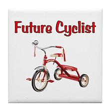 Future Cyclist Trike Tile Coaster