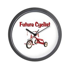 Future Cyclist Trike Wall Clock