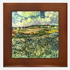 Van Gogh Pastoral Framed Tile