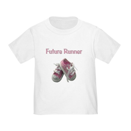 Future Girl Runner Toddler T-Shirt