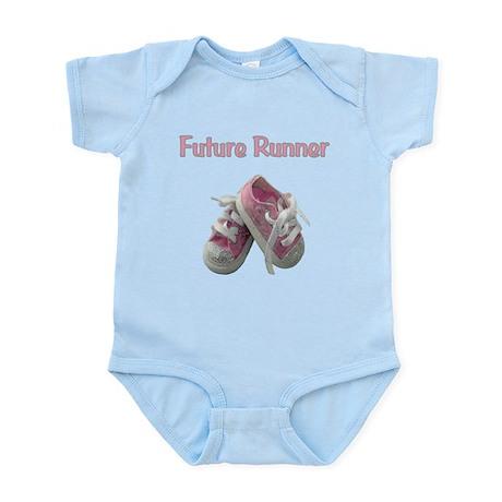 Future Girl Runner Infant Bodysuit