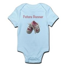 Future Girl Runner Infant Bodysuit
