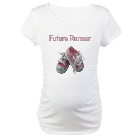 Future Girl Runner Maternity T-Shirt