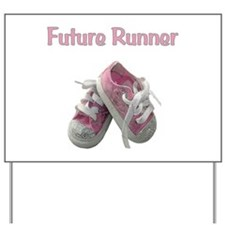 Future Girl Runner Yard Sign