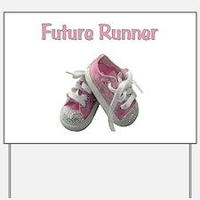 Future Girl Runner Yard Sign
