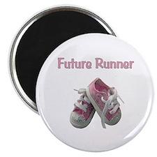 Future Girl Runner Magnet