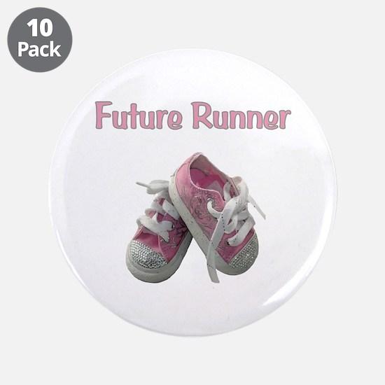 """Future Girl Runner 3.5"""" Button (10 pack)"""