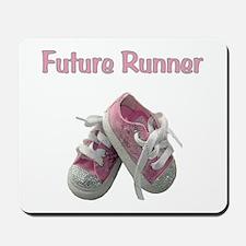 Future Girl Runner Mousepad