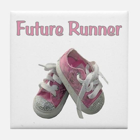 Future Girl Runner Tile Coaster