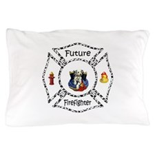 Future Firefighter Dalmatian Pillow Case