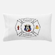 Future Firefighter Dalmatian Pillow Case