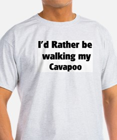 Rather: Cavapoo Ash Grey T-Shirt