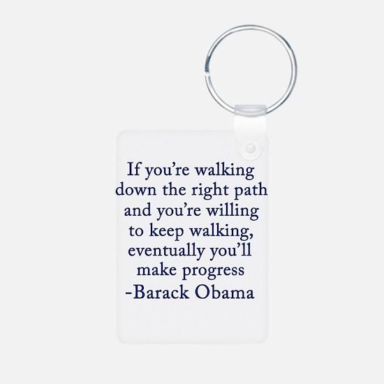 Progressive Obama Keychains