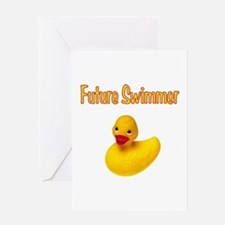 Future Swimmer Greeting Card