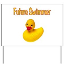 Future Swimmer Yard Sign