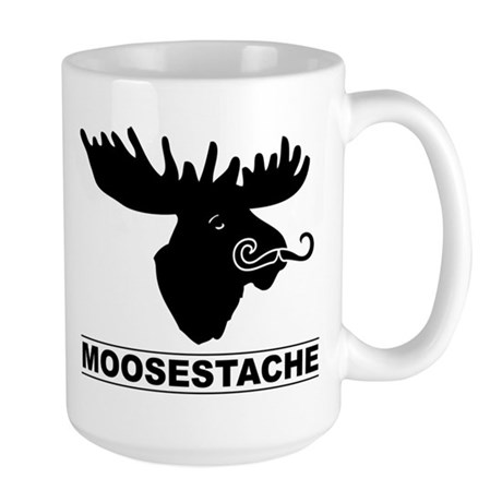 moosestache2 Mugs