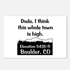 Boulder High Town Postcards (Package of 8)