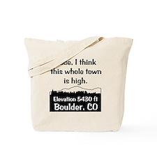 Boulder High Town Tote Bag