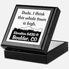 Boulder High Town Keepsake Box