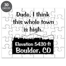 Boulder High Town Puzzle
