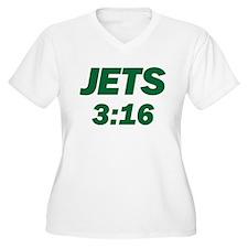 Jets 3:16 T-Shirt