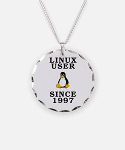 Linux user since 1997 - Necklace