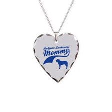 Belgian Laekenois Mommy Necklace Heart Charm