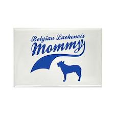 Belgian Laekenois Mommy Rectangle Magnet
