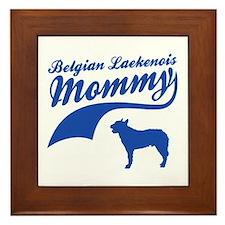 Belgian Laekenois Mommy Framed Tile