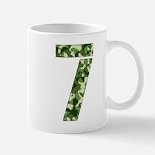Number 7, Camo Mug