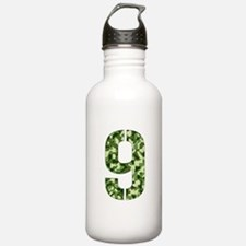 Number 9, Camo Water Bottle