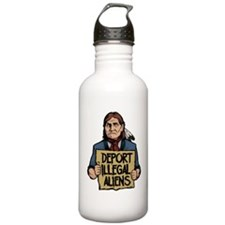 Deport Illegal Aliens Water Bottle
