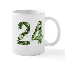 Number 24, Camo Mug