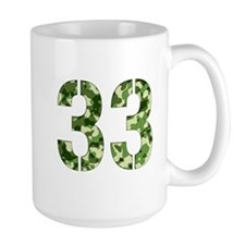 Number 33, Camo Mug