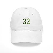 Number 33, Camo Baseball Cap
