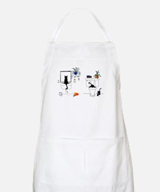 Cute Funny bathroom Apron