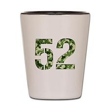 Number 52, Camo Shot Glass