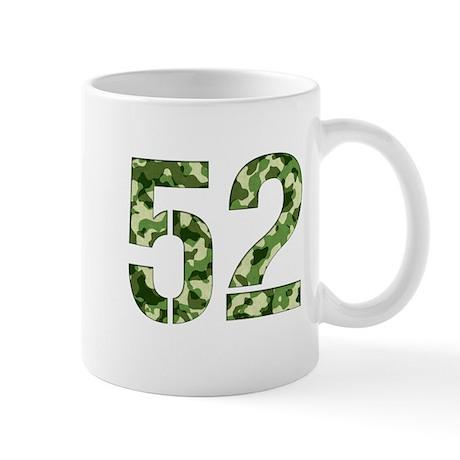 Number 52, Camo Mug