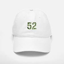 Number 52, Camo Baseball Baseball Cap