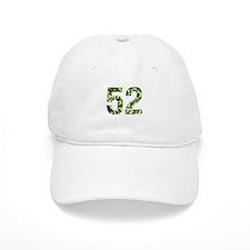 Number 52, Camo Baseball Cap