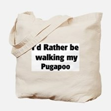 Rather: Pugapoo Tote Bag