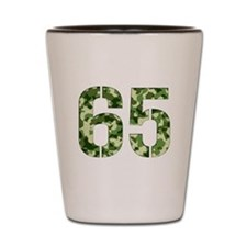 Number 65, Camo Shot Glass