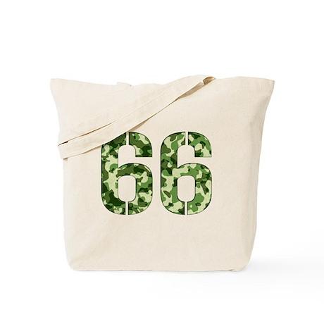 Number 66, Camo Tote Bag