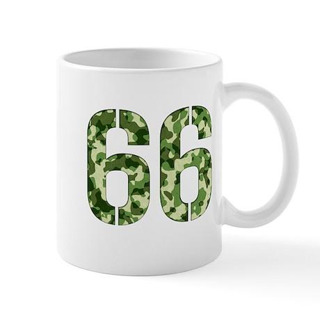 Number 66, Camo Mug