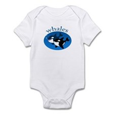 Whale(3) Infant Bodysuit
