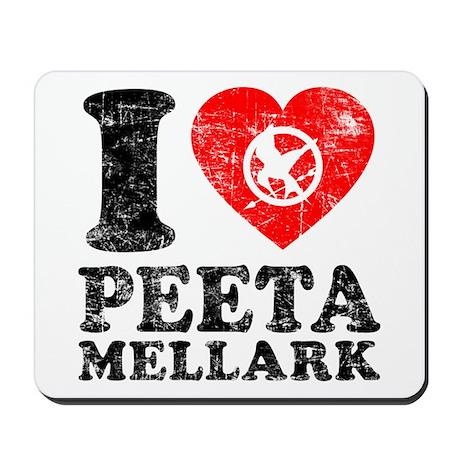 Luv Peeta Mousepad