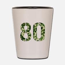 Number 80, Camo Shot Glass