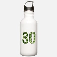 Number 80, Camo Water Bottle